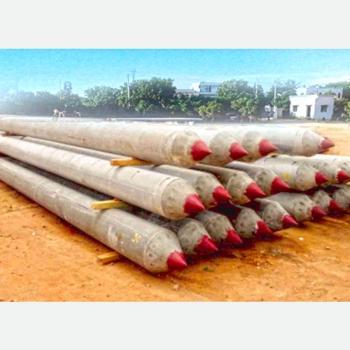 Pretensioned Spun Concrete Piles